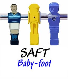 Logo club football de table SAFT Baby-foot