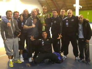 Les Coyotes d'Evry, champions de France de baby-foot par équipe pour la 3e fois