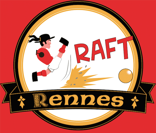 Logo du RAFT 35, club de baby-foot de Rennes