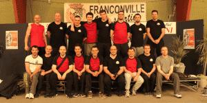 Les 2 équipes de babyfoot du club de Rennes (RAFT 35) au complet