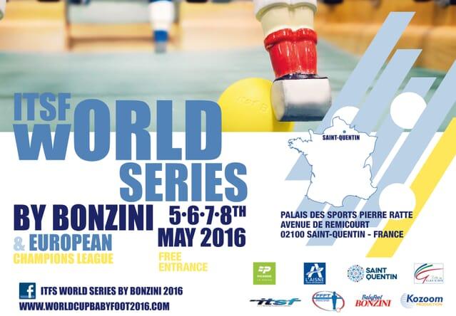 Coupe du monde de baby foot 2016 - ITSF World series Bonzini