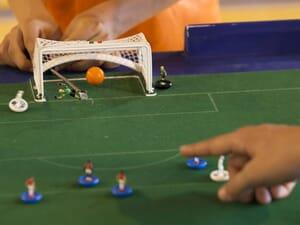 Le subbuteo, le football de table