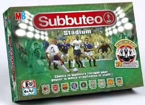 La boite  de jeu officielle de la marque Subbuteo