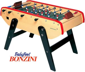 Le modèle entrée de gamme Bonzini, le baby foot Stadium