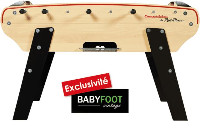 rené pierre compétition vintage l'exclusivité baby foot vintage