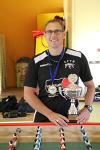 Compétition de baby foot : Ambel sacré champion du monde individuel semi pro