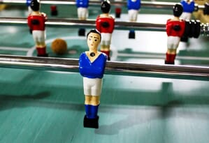 Ancien baby foot catenaccio sportivo joueur