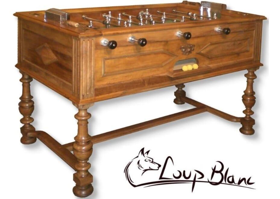 Baby-foot Loup Blanc Volga style Henri II