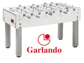 Baby foot Garlando G-500 Pure White