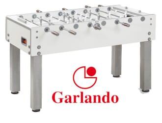 Baby foot Garlando G-500 Pure White