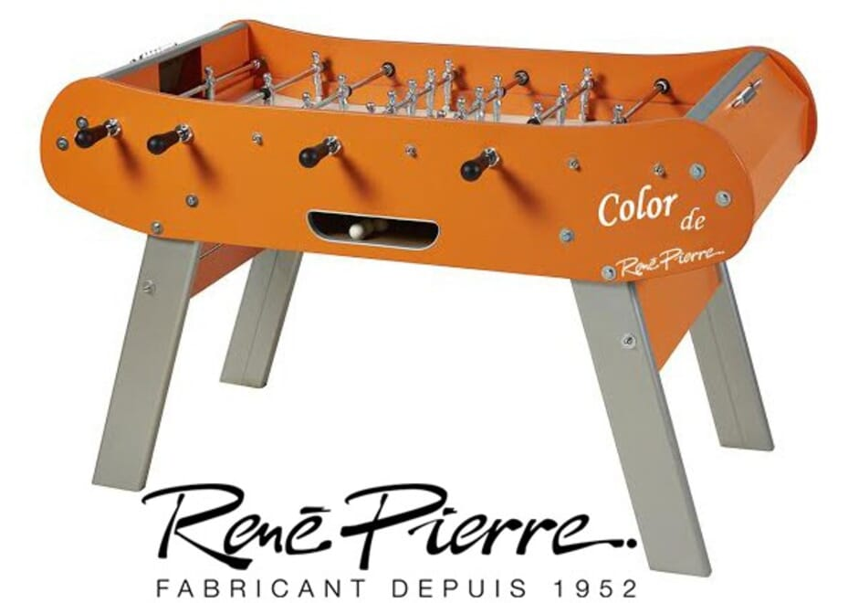 Baby foot René Pierre Color Orange