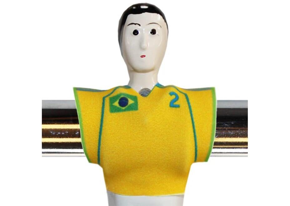 Lot de 11 Baby FooT Shirt Brésil