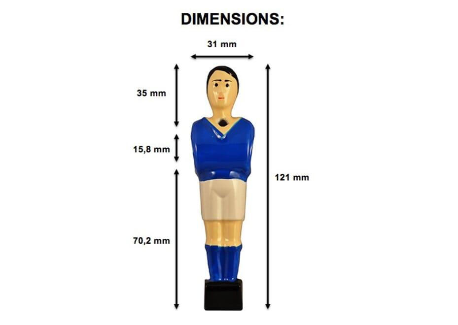 joueur baby foot catenaccio - Dimension Baby Foot