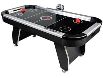 Table Air Hockey Noir 6FT