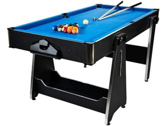 Table multi jeux pliable 5FT billard air hockey