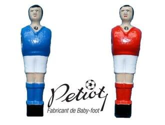 joueur à vis baby-foot Petiot